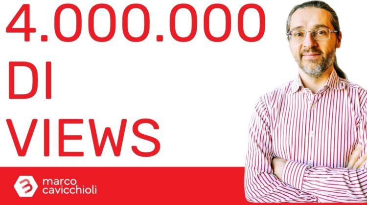 4 milioni visualizzazioni